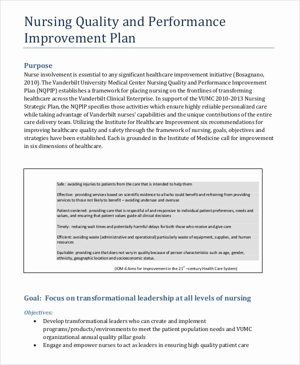 Sales Performance Improvement Plan Template Beautiful Sample Performance Plan 10 Documents In Word Pdf