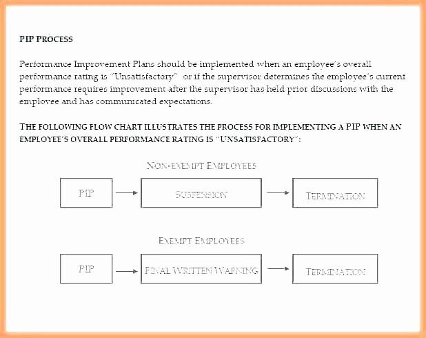 Sales Performance Improvement Plan Template New Performance Improvement Plan Template