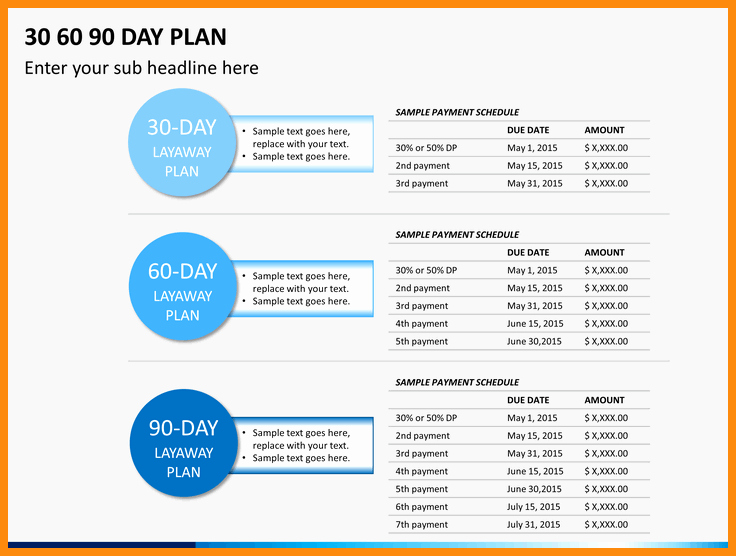 Sales Plan Template Ppt Best Of 30 60 90 Sales Plan – Emmamcintyrephotography