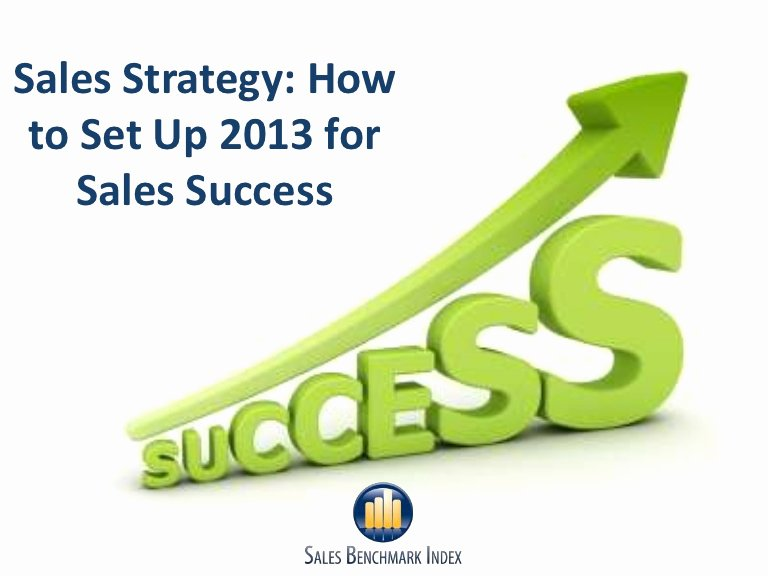 Sales Plan Template Ppt Lovely Sales Strategy 2013 Success