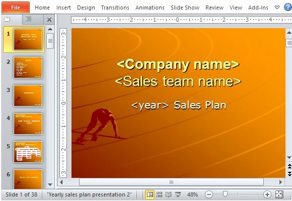Sales Plan Template Ppt Luxury Yearly Sales Plan Templates for Powerpoint