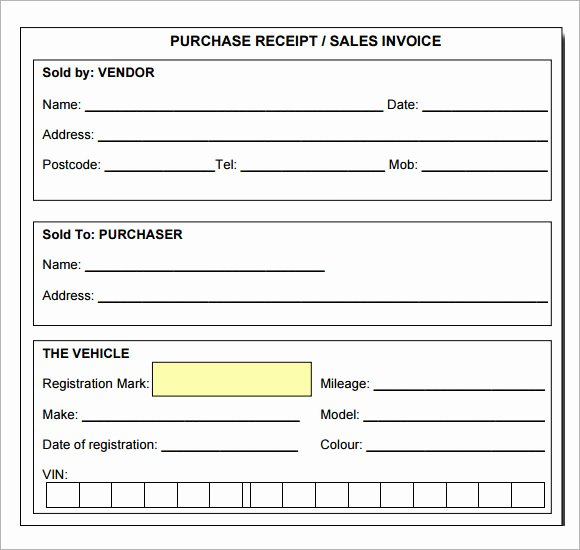 Sales Receipt Template Pdf Best Of Blank Receipt Template Pdf