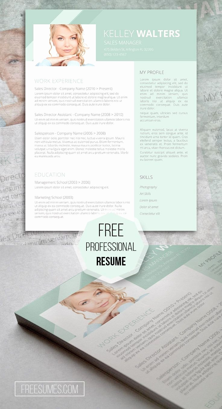 Sales Resume Template Word Best Of Sales Resume Template Giveaway Humble Green