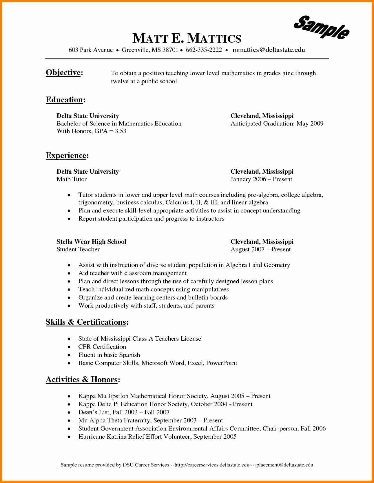 Sales Resume Template Word Elegant 6 Sales Resume Template Microsoft Word