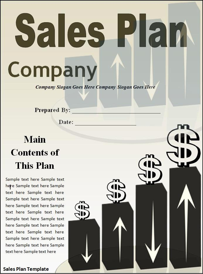 Sales Strategy Plan Template Awesome 10 Sales Plan Templates