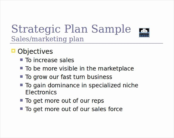 Sales Strategy Plan Template Fresh Sales Strategy Template 13 Free Word Pdf Documents