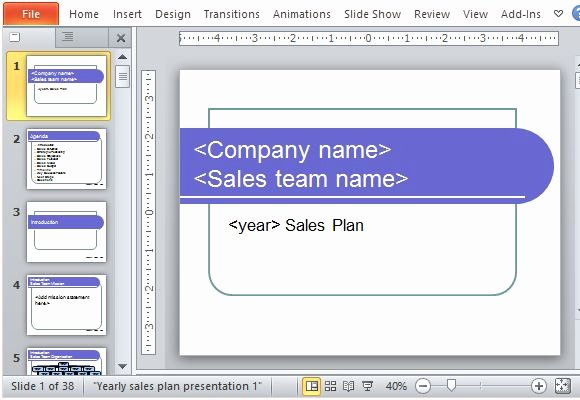 Sales Strategy Plan Template Inspirational Yearly Sales Plan Templates for Powerpoint