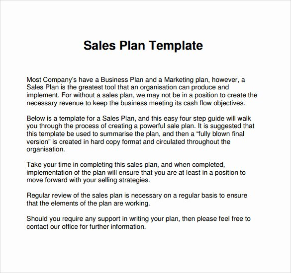 Sales Strategy Plan Template Unique Free 22 Sales Plan Templates In Pdf Rtf Ppt