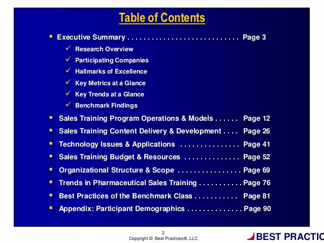 Sales Training Manual Template Inspirational Pharmaceutical Sales Training Excellence tools Processes