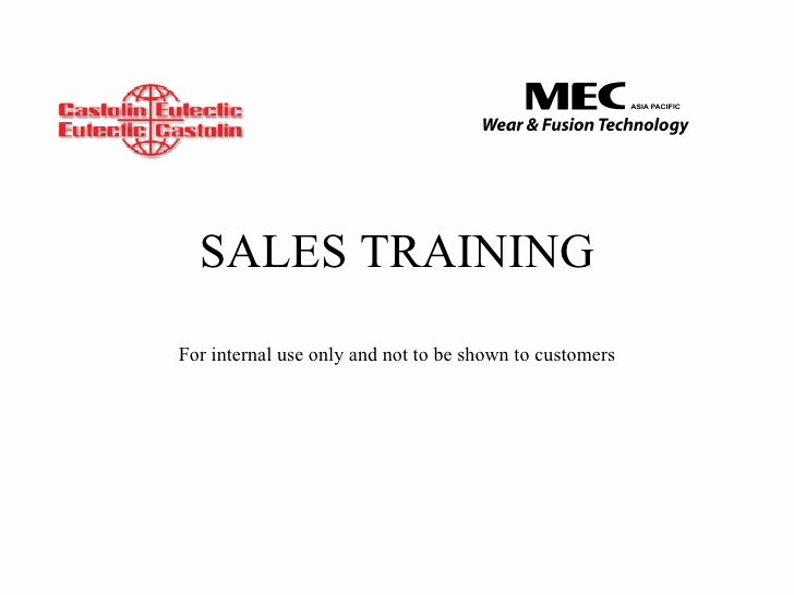 Sales Training Manual Template Lovely Basic Sales Training