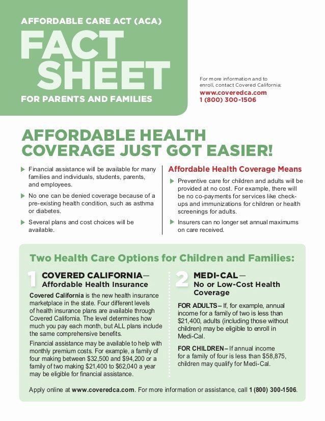 Sample Fact Sheet Template Beautiful Fact Sheet for Parents and Families Customizable