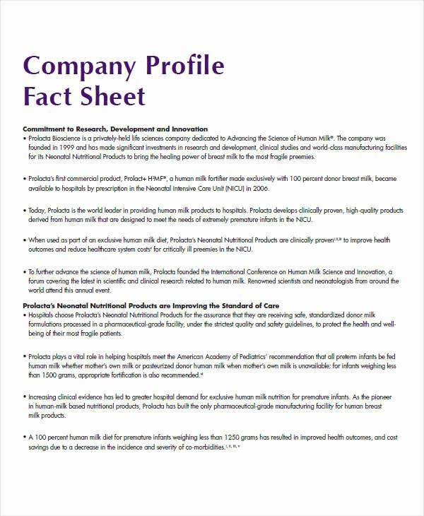 Sample Fact Sheet Template Fresh 37 Sample Fact Sheets