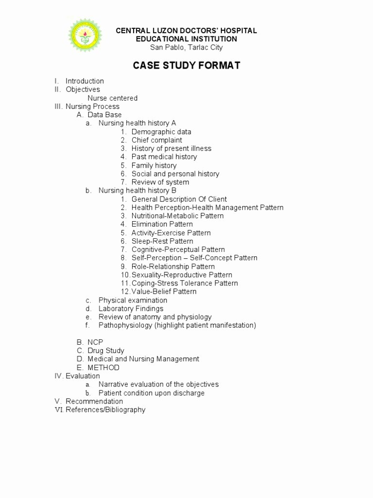 Sample Use Case Template Unique How to Write A Case Study Using Examples