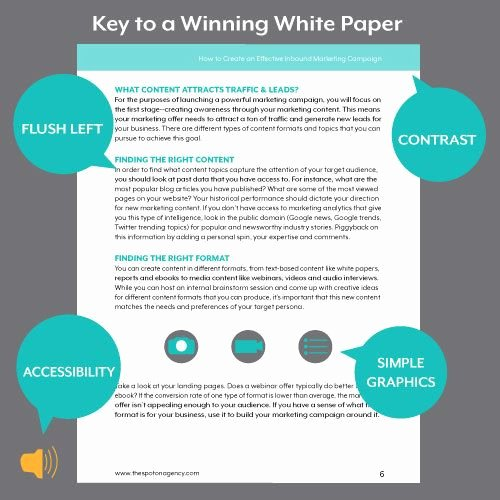 Sample White Paper Template Awesome A White Paper Template Helps You Build Content that