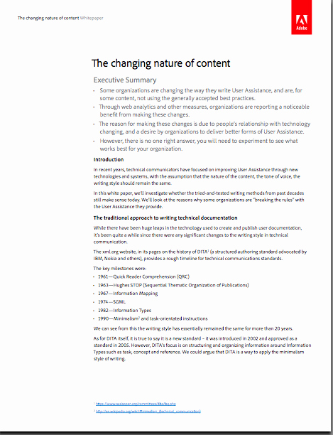 """Sample White Paper Template Elegant You Can now Our White Paper """"the Changing Nature"""