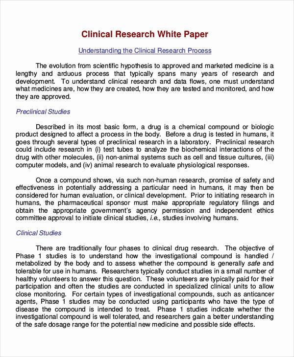 Sample White Paper Template Lovely 32 White Paper formats