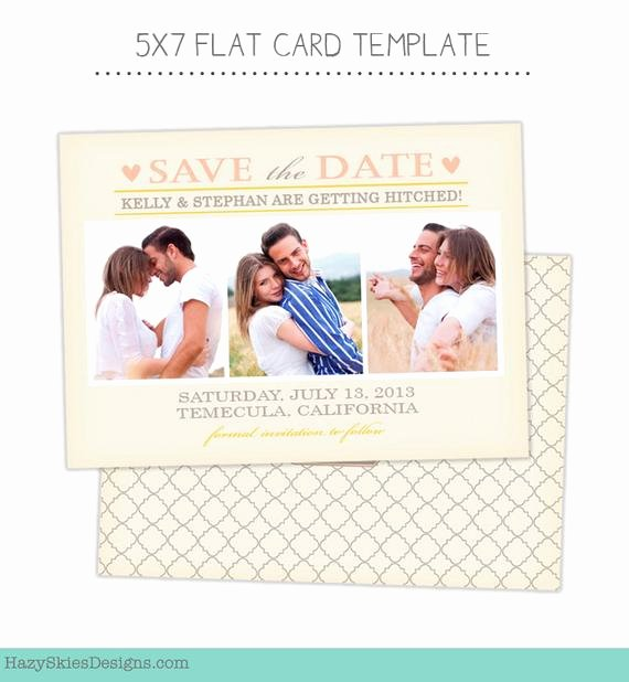 Save the Date Photoshop Templates Beautiful Items Similar to Save the Date Card Template for