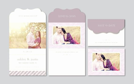 Save the Date Photoshop Templates Beautiful Modern Save the Date Graphy Template by