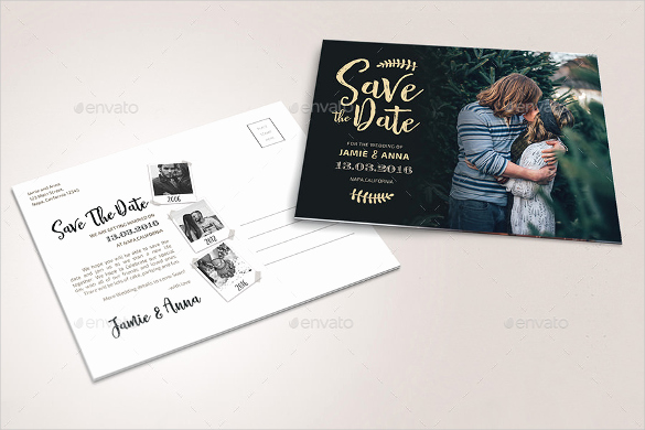 Save the Date Photoshop Templates Elegant 22 Save the Date Postcard Templates – Free Sample