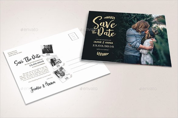 Save the Date Photoshop Templates Elegant Save the Date Postcard Template – 25 Free Psd Vector Eps