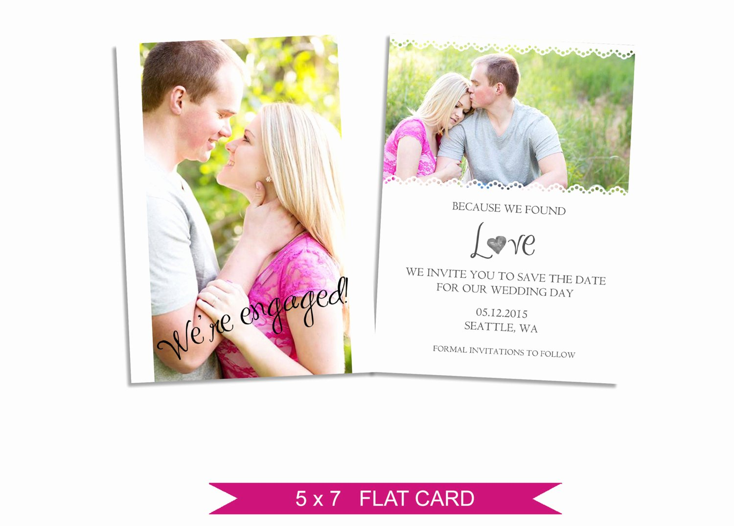 Save the Date Photoshop Templates Fresh Save the Date Card Shop Template Instant Download