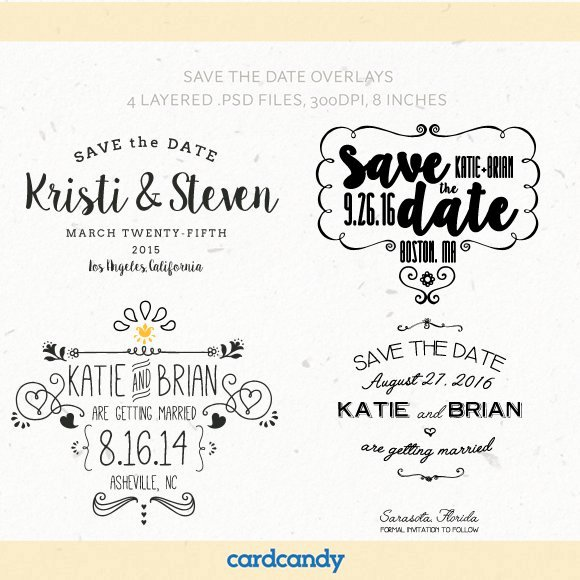 Save the Date Photoshop Templates Inspirational Save the Date Card Overlay Templates Invitation