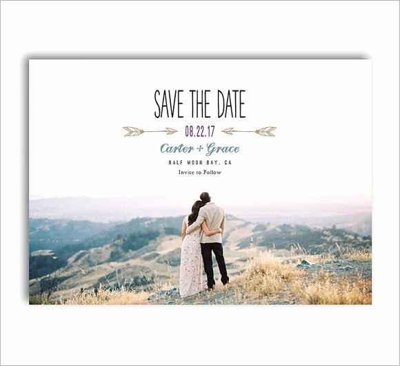 Save the Date Photoshop Templates Lovely 11 Sample Save the Dates Psd Vector Eps Ai Word