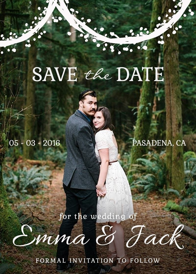 Save the Date Photoshop Templates Luxury Save the Date Bundle Template Vol 1 Shop Elements
