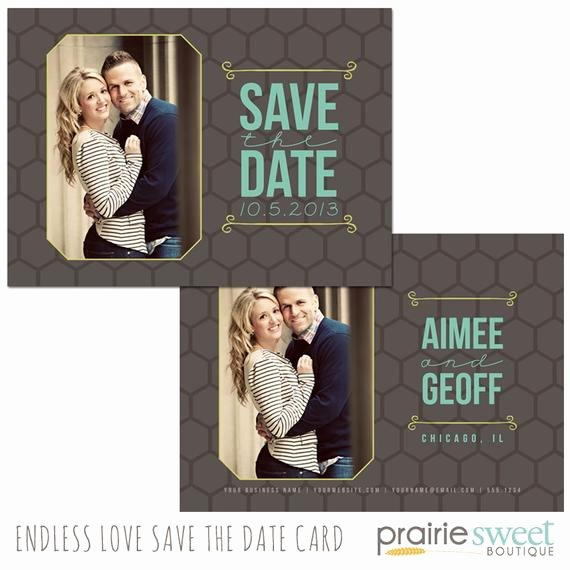 Save the Date Photoshop Templates New Save the Date Card Shop Template for Graphers