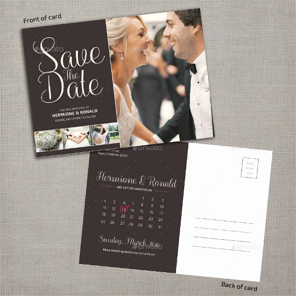 Save the Date Photoshop Templates New Save the Date Postcard Template – 25 Free Psd Vector Eps