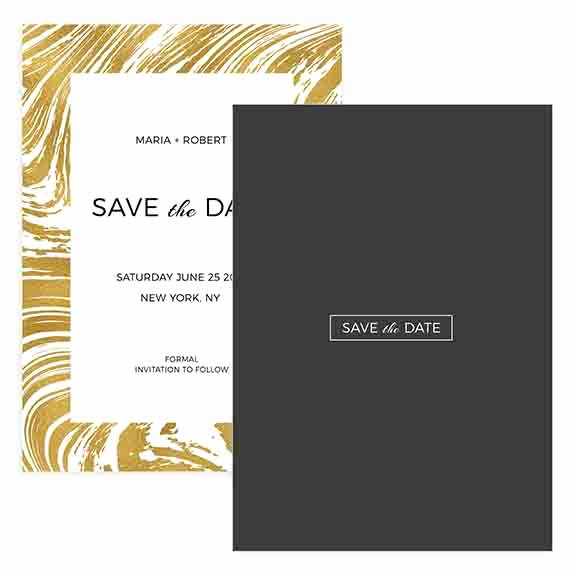 Save the Date Photoshop Templates Unique Gold Save the Date Shop Template Mockaroon