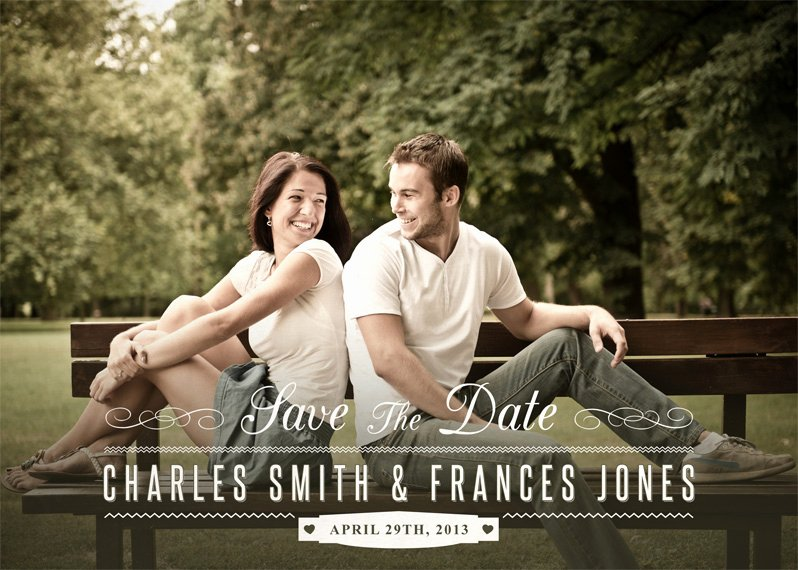 Save the Date Photoshop Templates Unique Save the Date Template 1 Shop Actions