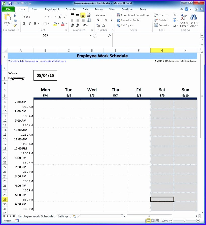 Schedule C Excel Template Fresh 12 Schedule Template for Excel Exceltemplates