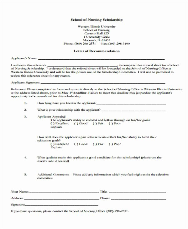 Scholarship Letters Of Recommendation Template Beautiful 40 Project Work Plan Template