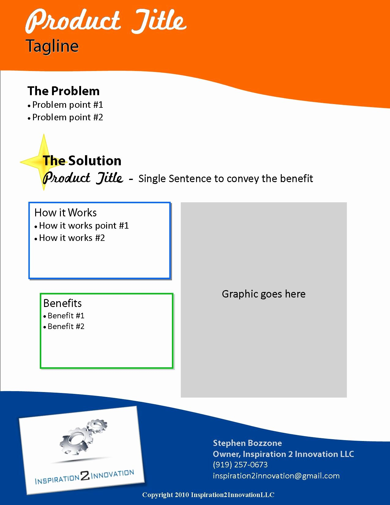 Sell Sheet Template Free New 5 Best Of Cool Invention Ideas Really Cool