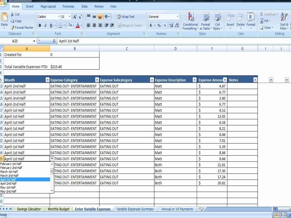Semi Monthly Budget Template Unique Savings Goal Calculator Excel Simple Tar Savings