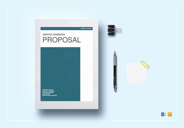 Service Proposal Template Word Fresh Free 18 Service Proposal Examples In Pdf Word