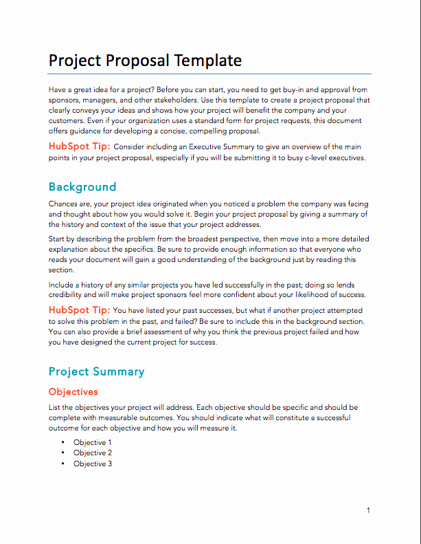 Service Proposal Template Word Inspirational Free Proposals Estimates Quotes Pdf & Word Template