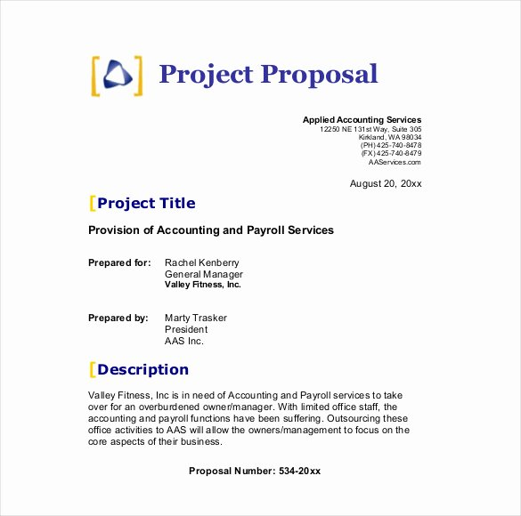 Service Proposal Template Word Inspirational How Can A Business Proposal Template Benefit You