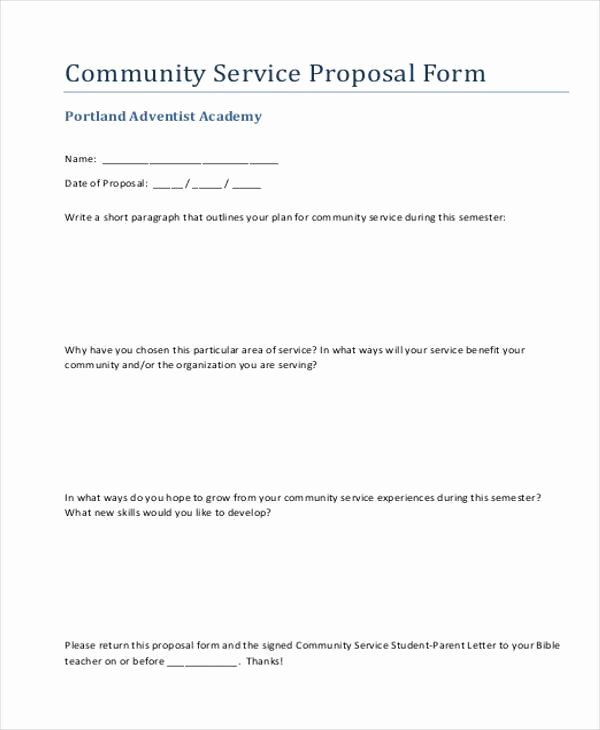 Service Proposal Template Word Lovely Sample Service Proposal forms 8 Free Documents In Word Pdf