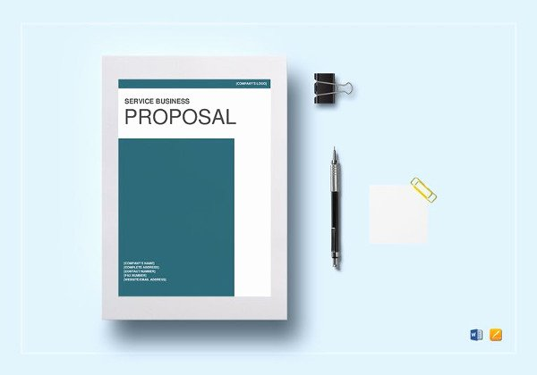 Service Proposal Template Word New 18 Service Proposal Templates Word Pdf Apple Pages