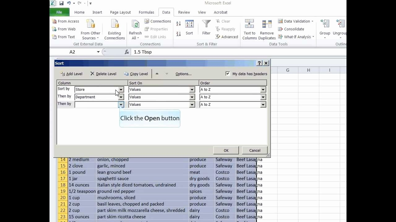 Shopping List Template Excel Luxury How to Create A Grocery Shopping List In Ms Excel