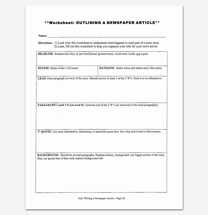Short Story Template Word Awesome Story Outline Template 15 for Word and Pdf format