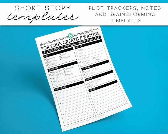Short Story Template Word Beautiful Short Story Templates