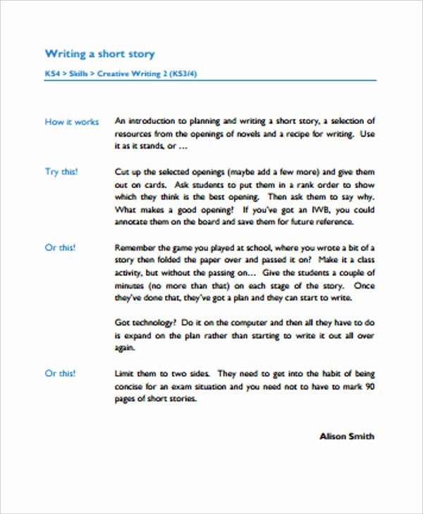 Short Story Template Word Best Of 3 Short Story Outline Templates