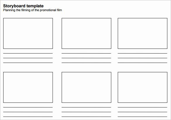 Short Story Template Word Best Of 7 Movie Storyboard Templates Doc Excel Pdf Ppt