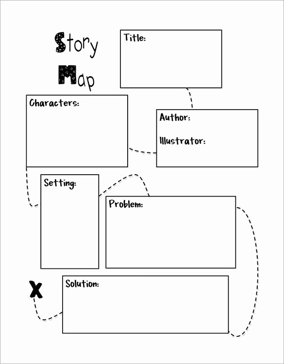 Short Story Template Word Elegant Story Map Template
