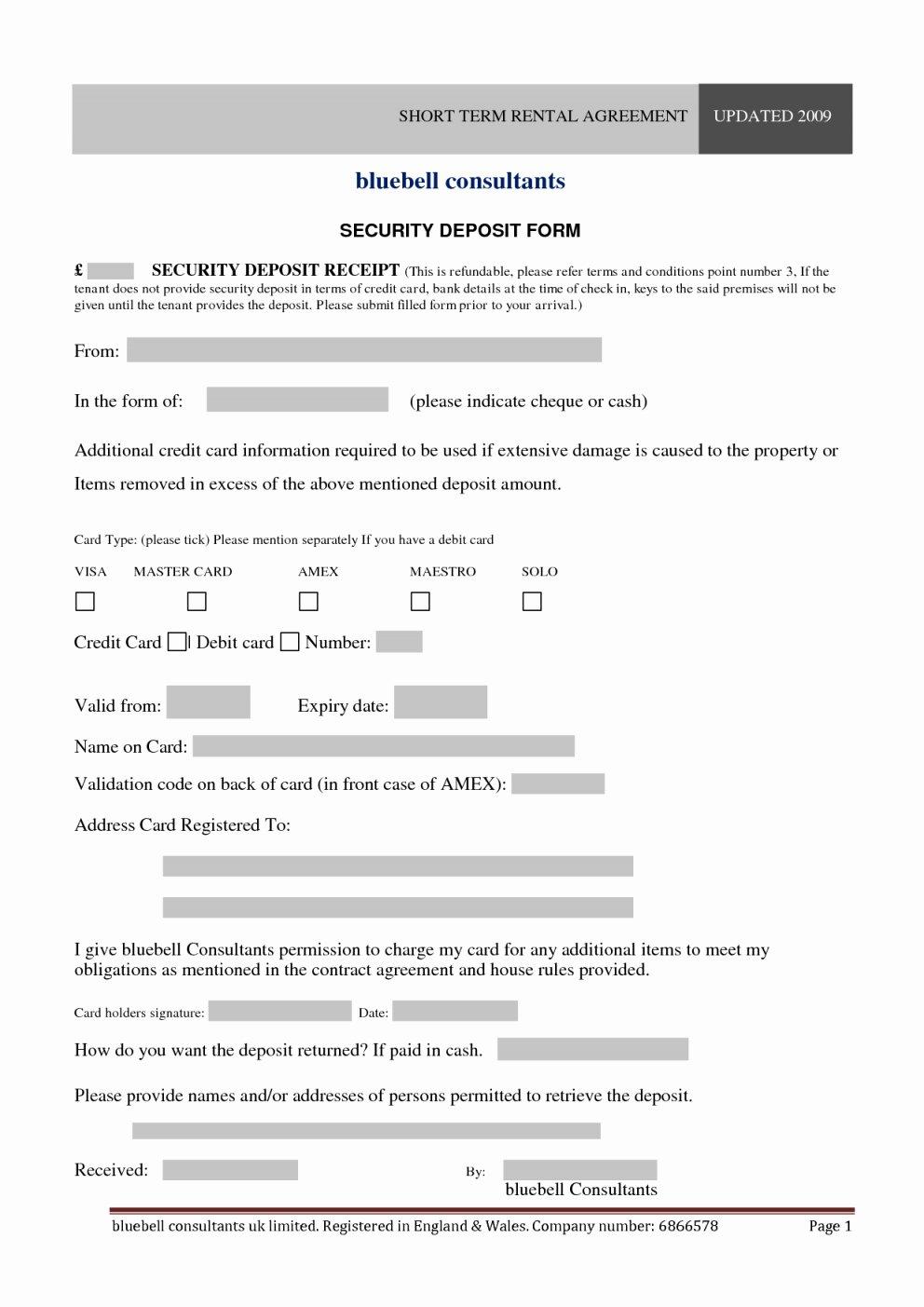 Short Term Rental Agreement Template Unique Weekly Rental Agreement Template