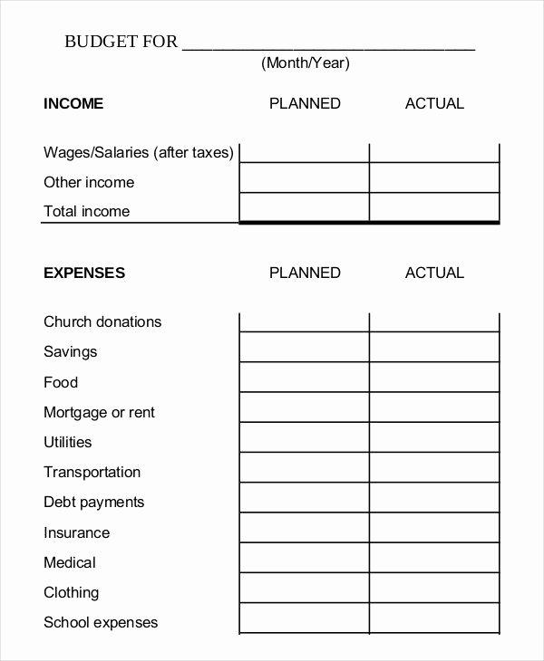 Simple Business Budget Template Unique Simple Monthly Bud Template Simple Monthly Bud