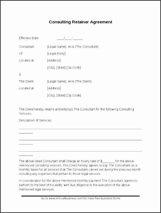 Simple Consulting Agreement Template Beautiful 9 Free Simple Consulting Agreement Template